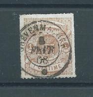 "N° 12 OBLITERE""GREVENMARCHER"" - 1859-1880 Coat Of Arms"