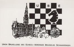 BRUSSEL - 1970 - UNION BRUXELLOISE ECHECS - SCHAKEN - Altri