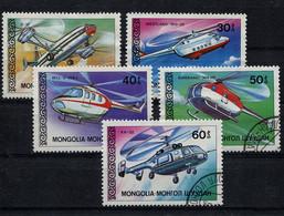 Mongolia,  Mongolei,  1987,   Hubschrauber,  Helicopters - Mongolia