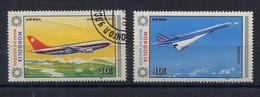 Mongolia,  Mongolei,  1984,  Aircraft,  Concorde - Mongolia