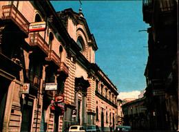 39789) CARTOLINA DI BRONTE-CORSO UMBERTO COLLEGIO CAPIZZI-NUOVA - Andere Steden