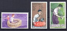 Laos YT PA 24-26 Neuf Sans Charnière - XX - MNH - Laos