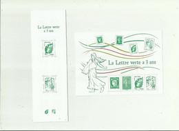 CARNET ET FEUILLET -  La Lettre Verte A 3 Ans Carnet N° 1521 Bloc 4908 Neuf ** Non Plié - Otros