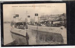 Contre Torpilleur Russe Dans Le Bassin Du Commerce CHERBOURG (50) - Other