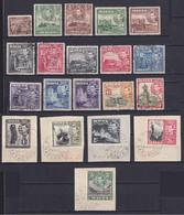 MALTA 1938/43, SG# 217-230, CV £27, Short Set, Architecture, Used - Malta