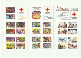 CARNET - Nbr 5 Carnets Different Croix Rouge Neuf ** Non Plié - Red Cross