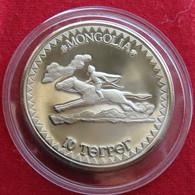 Mongolia 10 Tugrik 1984 Sport Games, Horse - Mongolia