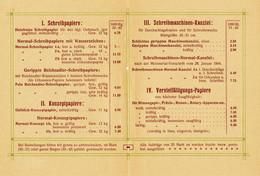 """Halle Saale 1901 2-s Deko Preisliste """" Gebauer-Schwetschke Druckerei Und Verlag """" Reklame Werbung A5 - Pubblicitari"""