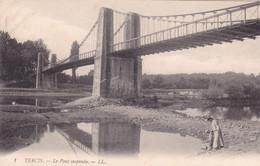 Landes : TERCIS : Le Pont Suspendu : Animation - Femme Et Enfant - Other Municipalities