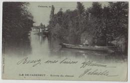 46 - B18591CPA - CAHORS - Ile De Cabessut - Entree Du Chenal -  Carte Pionniere - Très Bon état - LOT - Cahors