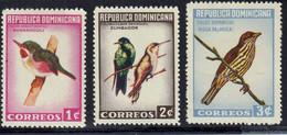 REPUBLIQUE DOMINICAINE - Faune, Oiseaux - Y&T N° 612-616 - PA 172 - MNH - 1964 - Dominikanische Rep.