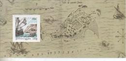 BLOC SOUVENIR    FONDATION DE QUEBEC   N° YVERT ET TELLIER   28/31    NEUF SANS CHARNIERE - Foglietti Commemorativi