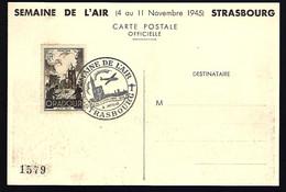 SEMAINE DE L'AIR - STRASBOURG NOVEMBRE 1945 - - Aviones