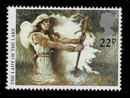 GB 1985,Michel# 1040 O  Arthurian Legends: Lady Of The Lake - Gebruikt