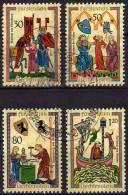 Minnesänger 1970 Liechtenstein 527/0 Aus Block 8 O 3€ Lieder-Handschrift Foglitti M/s Art Bloc Music Sheet Bf Fürstentum - Gebraucht