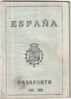 SPAIN Passport 1926 Passeport  ESPAGNE– Reisepaß – Revenues/Fiscaux - Documentos Históricos