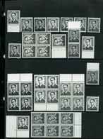 Lunettes N° 924 Et 924 P3 (bloc Et Seul) ( ** )  Soit : 61 Timbres - 1953-1972 Anteojos