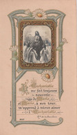 1017 - IMAGE RELIGIEUSE  EUCHARISTIE ME FAIT TOUJOURS .....CATHEDRALE ST JULIEN LE MANS LE 9 MAI 1909 BOUASSE JEUNE 8057 - Santini