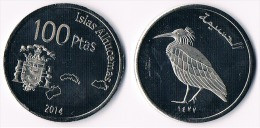 ISLAS ALHUCEMAS 100 Pesetas 2014- Bird - Other - Africa