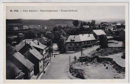 ST.VITH  ECKE BAHNHOF  MAJORLONGSTRASSE  KRIEGERDENKMAL - Saint-Vith - Sankt Vith