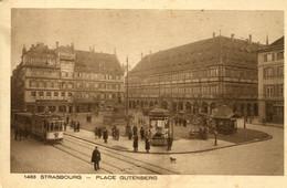 CPA - STRASBOURG - PLACE GUTENBERG - Strasbourg