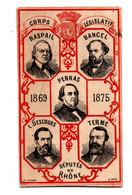 Image Députés Du Rhone 1869-1875 - Sin Clasificación