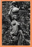 C.P.S.M. -- COTE D'IVOIRE -- 816 -- Jeune Fille -- NUS - SEINS - NUS - NUS ETHNIQUES - PHOTO VERITABLE - África