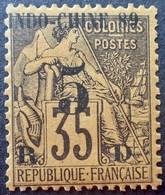 R2740/660 - 1889 - COLONIES FR. - INDOCHINE - N°2 NEUF* - Ungebraucht
