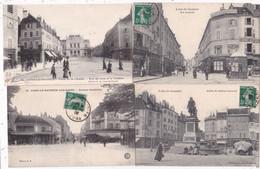 LOT//////045...........16 CPA LONS LE SAUNIER - 5 - 99 Postcards