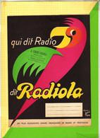 PROTEGE CAHIER : Qui Dit Radio Dit RADIOLA EBBLINGHEM - Book Covers