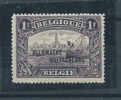 OCC 51A** TYPE II - [OC38/54] Belg. Besatzung In D.