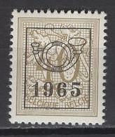Préo COB N° PRE764. Série 58 De 1965,  MNH, **. Cote COB 2020 : 16 € - Sobreimpresos 1951-80 (Chifras Sobre El Leon)