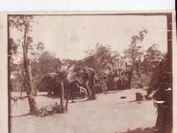 """Photo De  Particulier Afrique Congo Belge 1911  """" Le  Village Pygmées  """" Réf 4460 - Africa"""