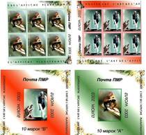 Moldova / PMR Transnistria . EUROPA 2003. Poster Art. Booklet. - Moldova