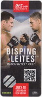 Scotland Glasgow / Martial Arts / Accreditation / UFC VIP Experience Fight Pass / Bisping - Leites, Middleweight Bout - Martial Arts