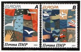 Moldova / PMR Transnistria . EUROPA 2004. Holiday.2v:A,B - Moldova