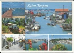SAINT TROJAN , La Pointe De Manson , Le Petit Train , Les Rues Piétonnes Et Les Cabanes Ostréicoles , 2005 - Other Municipalities