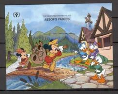 Disney Maldives 1990 Aesop's Fables - The Miller MS MNH - Disney