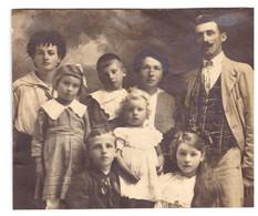 BELLE FAMILLE      PHOTO SEPIA  CIVIDINI PORDENONE  ITALIE - Personas Anónimos