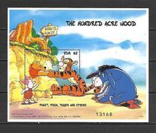 Disney Micronesia 1998 Winnie The Pooh MS #1 MNH - Disney