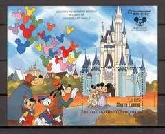 Disney Sierra Leone 1987 Salutations Between Friends MS MNH - Disney