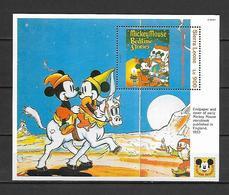 Disney Sierra Leone 1992 Mickey Mouse Magazines And Books #2 MS MNH - Disney