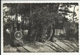 ILE D'OLERON ( Charente Maritime ) , Petit Tramway Touristique De SAINT TROJAN , 1966 - Other Municipalities