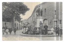 Moussan Fontaine Publique Place Du 1er Mai - Altri Comuni