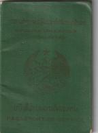 Service Passport - LAOS 1986 – Passeport De Service  - Dienstpaß - Documentos Históricos