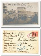 CHINE CHINA - Carte Postale Photo De Pékin (北京 Běijīng)13/3/1913 Pour Les USA Via Sibérie - Voir Scan - Briefe U. Dokumente