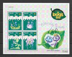 Disney Palau 1998 A Bug's Life Sheetlet #2 MNH - Disney