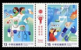 (121) Taiwan / ROC / China / Formosa  2020 / Medicine / Covid / Corona ** / Mnh Michel  ** / Mnh Michel - Sin Clasificación