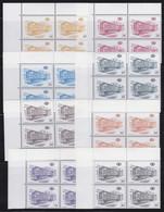 Belgie   .  OBP   .   TR 433/454 Blokken  ZONDER 450  (3 Scans)    .   **    .   Postfris - 1952-....