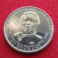 Paraguay 1000 Guaranies 1 Mil 2008 KM# 198 UNC  Paraguai - Paraguay